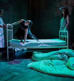 'The Bed' by Lady Strong's Bonfire (sister company of Tessa Bide Productions). Paul Blakemore photography.