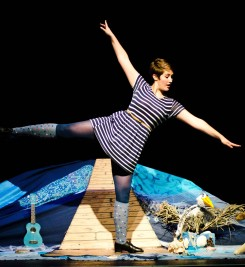 The Tap Dancing Mermaid by Tessa Bide at Bridport Arts Centre October 2014. Photography by Kai Taylor.