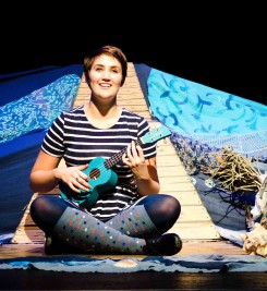 The Tap Dancing Mermaid by Tessa Bide at Bridport Arts Centre October 2014. Photography by Kai Taylor.