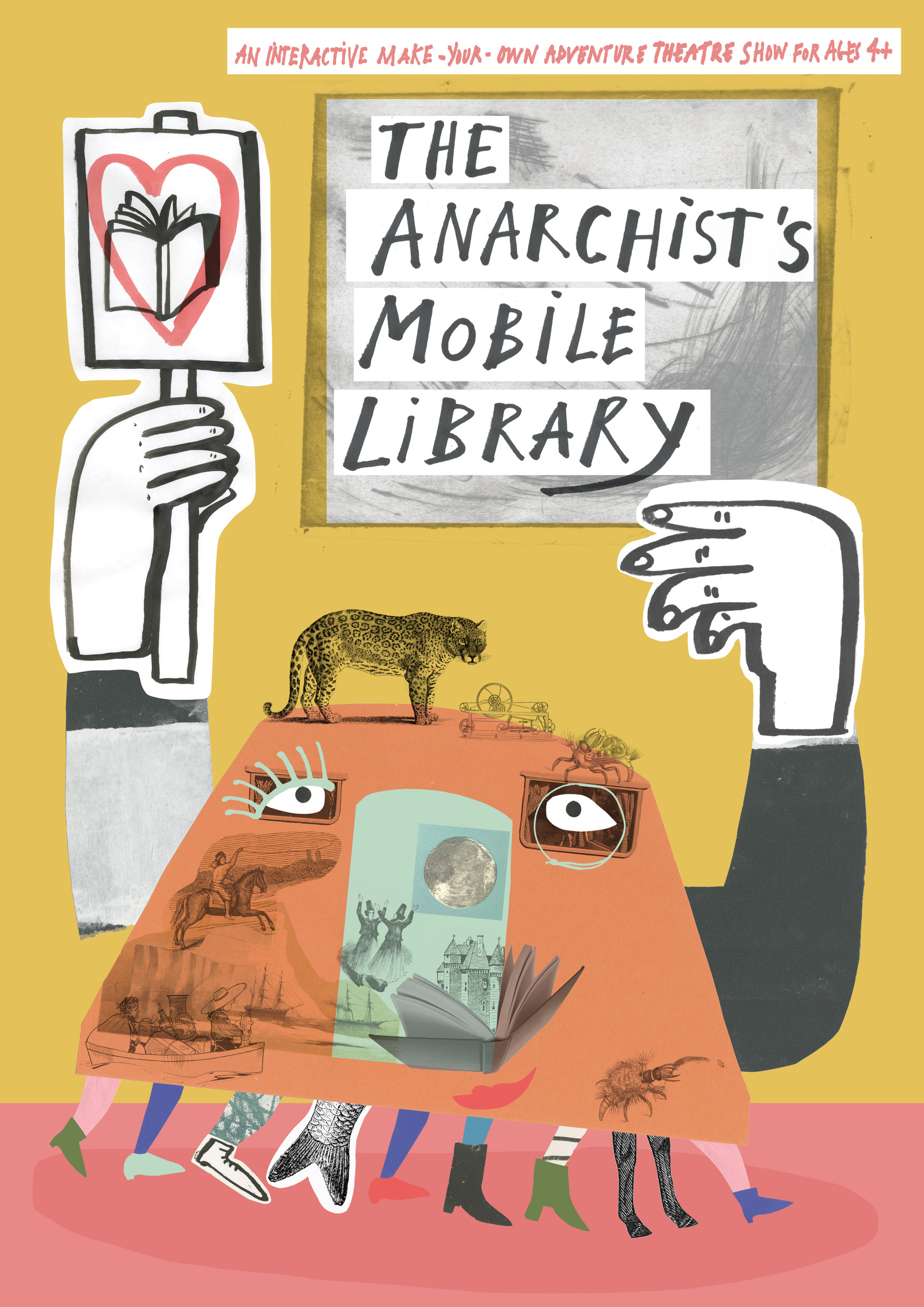 The Anarchist's Mobile Library – live show