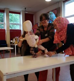 Introduction to Puppetry CPD workshop June 2019